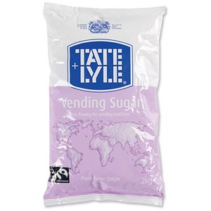 Image of Tate and Lyle Vending Sugar Bag for Dispensing Machine - 2kg