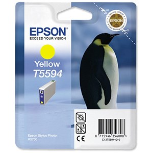 Image of Epson T5594 Yellow Inkjet Cartridge