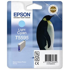 Image of Epson T5595 Light Cyan Inkjet Cartridge