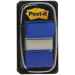 Image of Post-it Index Flags / Blue / Pack of 12 x 50