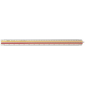 Image of Rotring Triangular Reduction Scale Ruler / 1 Architect from 1-20 to 1-125