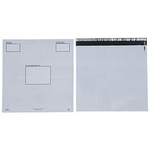 Image of Keepsafe Extra Strong Polythene Envelopes / DX / W460xH430mm / Peel & Seal / Opaque / Box of 20
