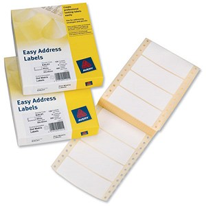 Image of Avery Easy Address Labels / 89x37mm / EAL01 / 500 Labels