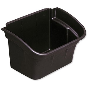 Image of Rubbermaid Utility Bin for Utility Cart / 15L / Black