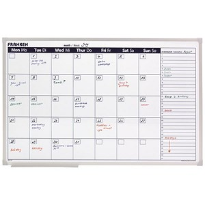 Image of Franken Month Planner / Magnetic Grid 96x98mm / W900xH600mm