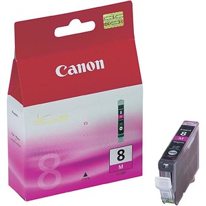 Image of Canon CLI-8 Magenta Inkjet Cartridge