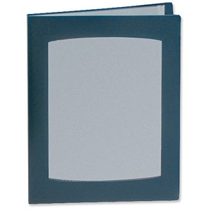Image of Rexel Clearview Display Book / A4 / 24 Pockets / Blue