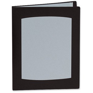 Image of Rexel Clearview Display Book / A4 / 50 Pockets / Black