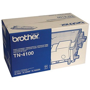 Image of Brother TN4100 Black Laser Toner Cartridge