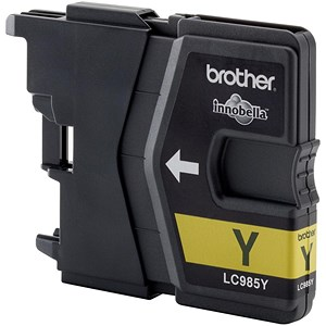 Image of Brother LC985Y Yellow Inkjet Cartridge