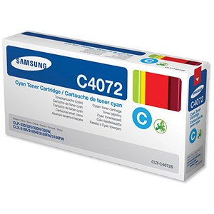 Image of Samsung CLT-C4072S Cyan Laser Toner Cartridge