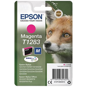 Image of Epson T1283 Magenta DURABrite Inkjet Cartridge