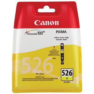 Image of Canon CLI-526 Yellow Inkjet Cartridge