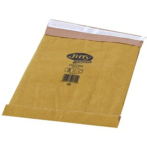 Image of Jiffy No.3 Padded Bag Envelopes / 195x343mm / Brown / Pack of 100