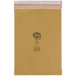 Image of Jiffy No.6 Padded Bag Envelopes / 295x458mm / Brown / Pack of 50