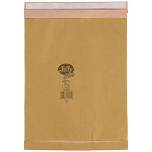 Image of Jiffy No.7 Padded Bag Envelopes / 341x483mm / Brown / Pack of 50