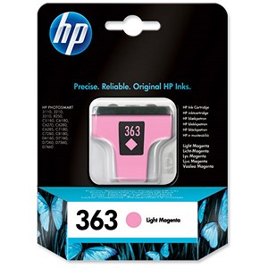 Image of HP 363 Light Magenta Ink Cartridge