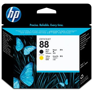 Image of HP 88 Black/Yellow Printhead