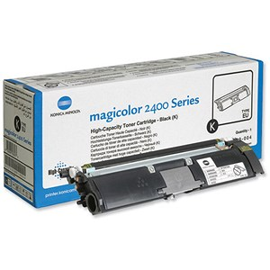 Image of Konica Minolta A00W432 Black Laser Toner Cartridge