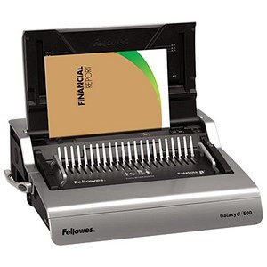 Image of Fellowes Galaxy-E 500 Electric Comb Binder