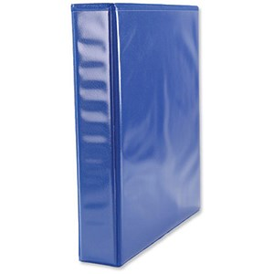 Image of Elba Panorama Presentation Ring Binder / 2 D-Ring / 40mm Spine / 25mm Capacity / A5 / Blue / Pack of 6