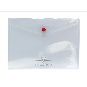 Image of Concord Stud Wallet Files / Polypropylene / A5 / Clear / Pack of 5
