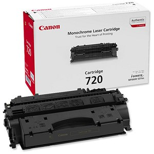 Image of Canon 720 Black Laser Toner Cartridge