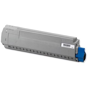 Image of Oki 44059211 Cyan Laser Toner Cartridge