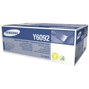 Image of Samsung CLT-Y6092S Yellow Laser Toner Cartridge