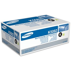 Image of Samsung CLT-K5082S Black Laser Toner Cartridge