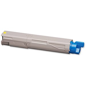 Image of Oki 43459369 Yellow Laser Toner Cartridge