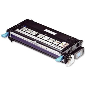Image of Dell 3130cn High Capacity Cyan Laser Toner Cartridge