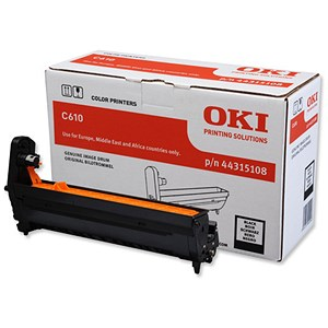 Image of Oki C610 Black Image Drum