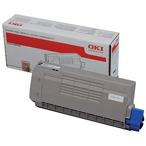 Image of Oki C711 Black Laser Toner Cartridge