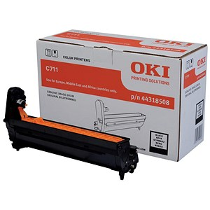 Image of Oki 44318508 Black Laser Drum Unit