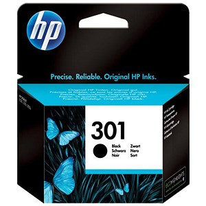 Image of HP 301 Black Ink Cartridge