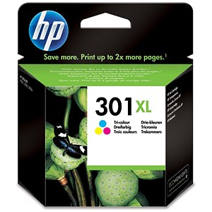 Image of HP 301XL Colour Ink Cartridge