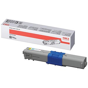 Image of Oki 44469704 Yellow Laser Toner Cartridge
