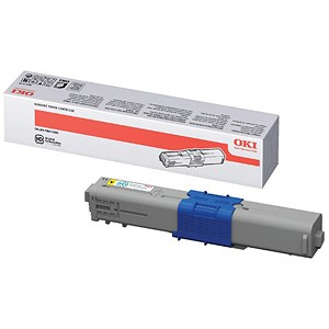 Image of Oki 44469722 High Yield Yellow Laser Toner Cartridge