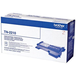 Image of Brother TN2210 Black Laser Toner Cartridge