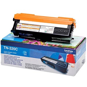 Image of Brother TN320C Cyan Laser Toner Cartridge