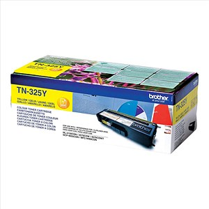 Image of Brother TN325Y Yellow Laser Toner Cartridge