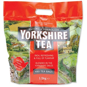 Image of Yorkshire Tea Bags - Pack of 480