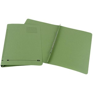 Image of Elba Ashley Flat Files / 35mm / Foolscap / Green / Pack of 25