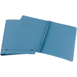 Image of Elba Ashley Flat File 285gsm Capacity 35mm Foolscap Blue Ref 100090154 [Pack 25]