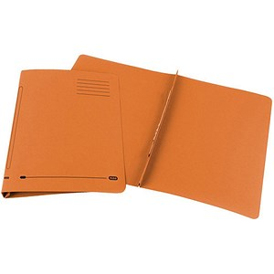 Image of Elba Ashley Flat File 285gsm Capacity 35mm Foolscap Orange Ref 100090283 [Pack 25]