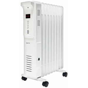 Image of 5 Star Radiator Oil Filled Mobile with Digital Thermostat 3 Heat Settings 2500W