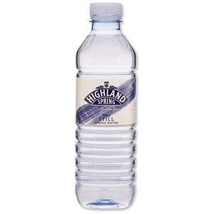 Image of Highland Spring Still Mineral Water - 24 x 500ml Plastic Bottles