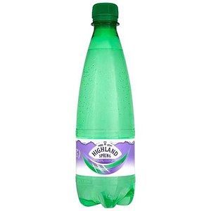 Image of Highland Spring Sparkling Mineral Water - 24 x 500ml Plastic Bottles