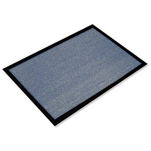 Image of Floortex Indoor Entrance Mat Hard Wearing 800x1200mm Blue